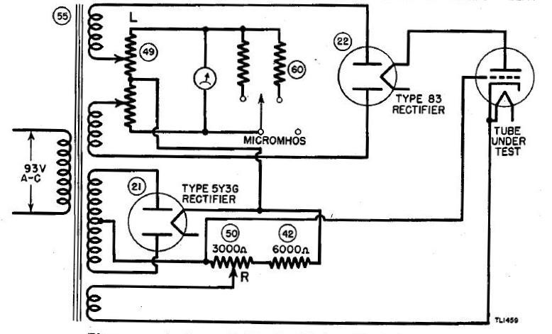 figure 6  simplified conductance test circuit